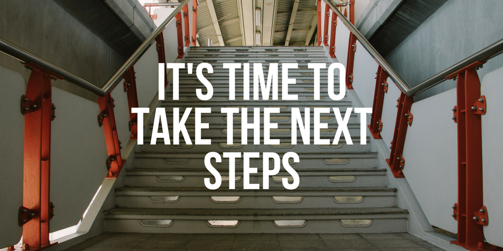 Take your next steps progressing your workouts.